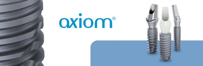 Image result for axiom dental implants logo